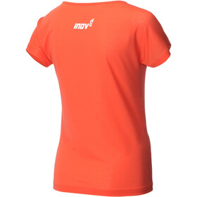 inov-8 AT/C Dri Release SS Shirt Damen coral